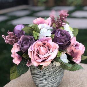 Faux Floral Arrangment